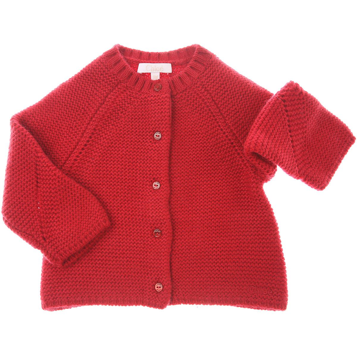 Chloe Baby Sweaters for Girls On Sale, Red, polyamide, 2019, 12M 18M 2Y 6M 9M
