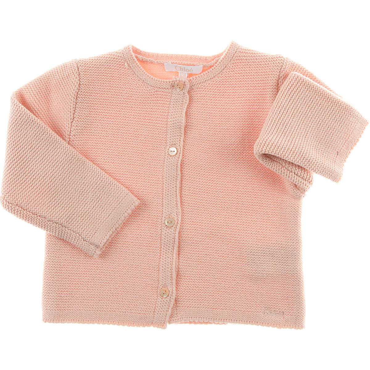 Image of Chloe Baby Sweaters for Girls, Pink, Cotton, 2017, 12M 18M 2Y 6M