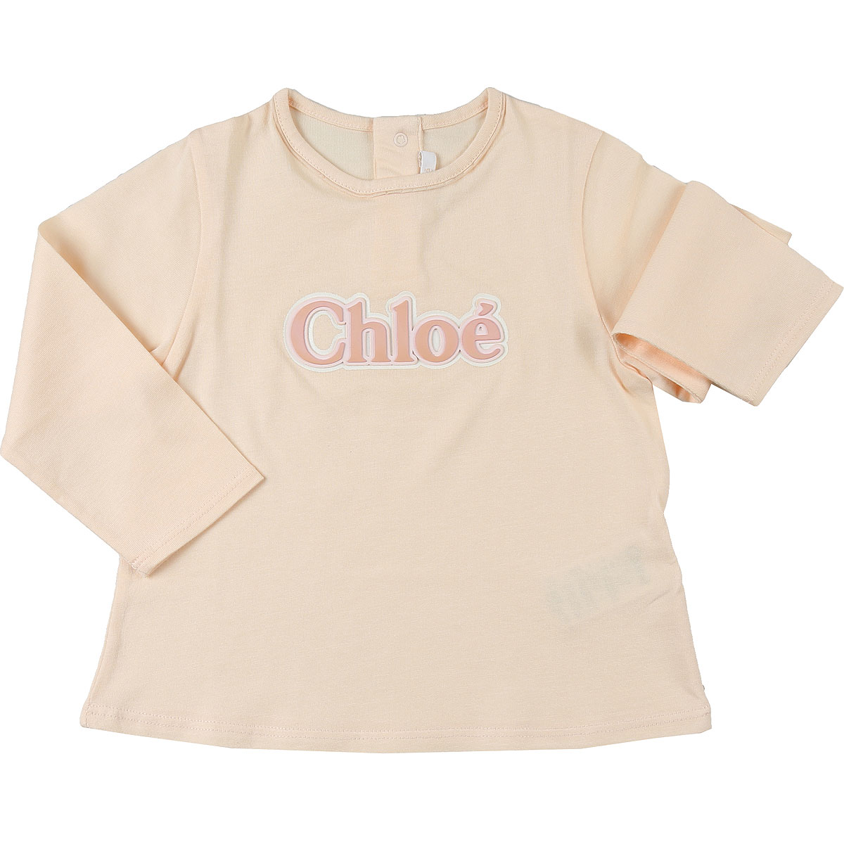 Chloe Baby T-Shirt for Girls On Sale, Pale Pink, Cotton, 2019, 12M 18M 2Y 3Y 9M