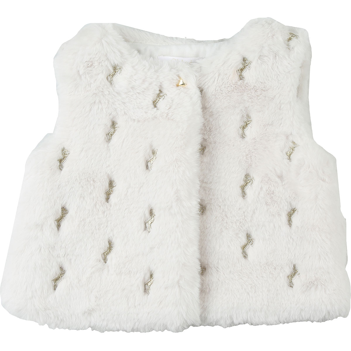 Chloe Baby Coats for Girls On Sale, White, polyester, 2019, 12M 18M 2Y 3Y 9M