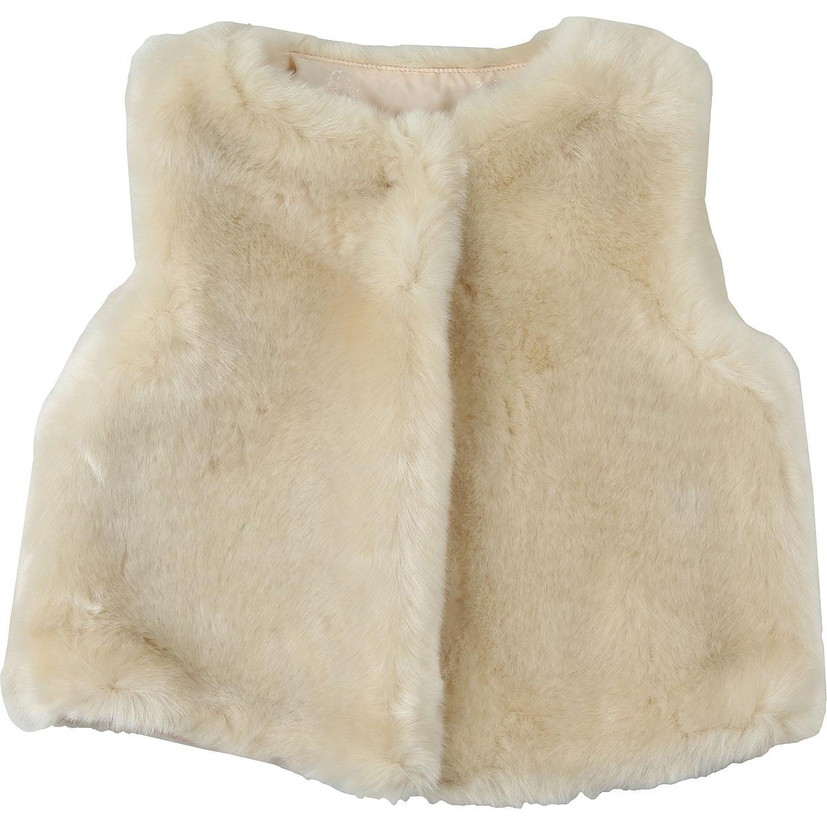 Chloe Baby Coats for Girls On Sale, Ivory, Acrylic, 2019, 12M 18M 2Y 3Y 9M