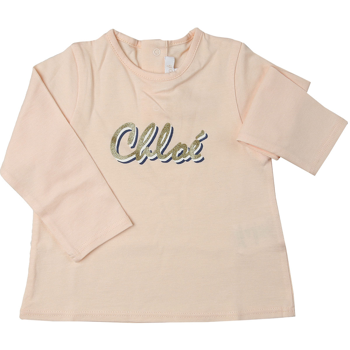 Chloe Baby T-Shirt for Girls On Sale, Pink, Cotton, 2019, 12M 2Y 3Y 6M 9M