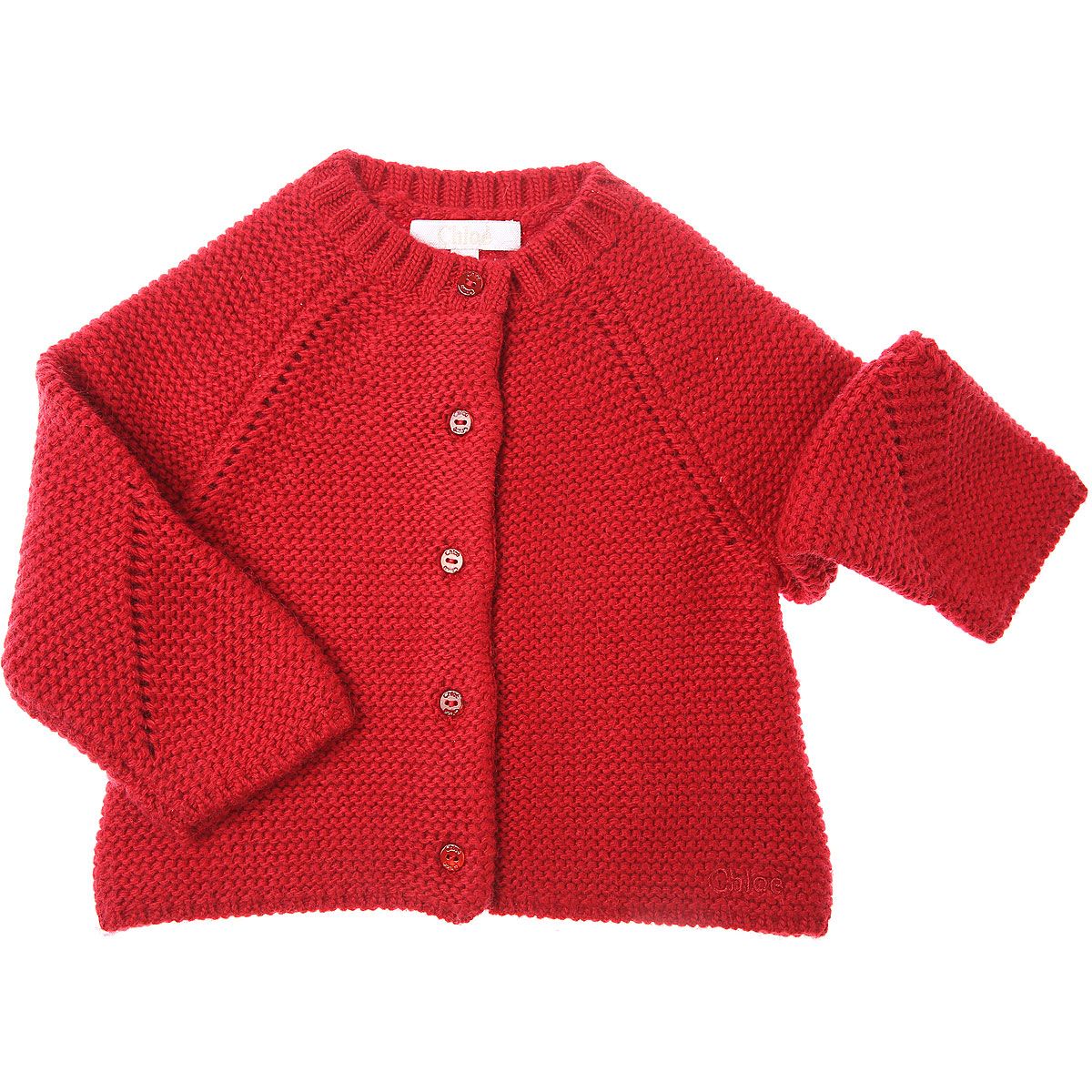 Chloe Baby Sweaters for Girls On Sale, Red, polyamide, 2019, 12M 18M 2Y 3Y 6M 9M