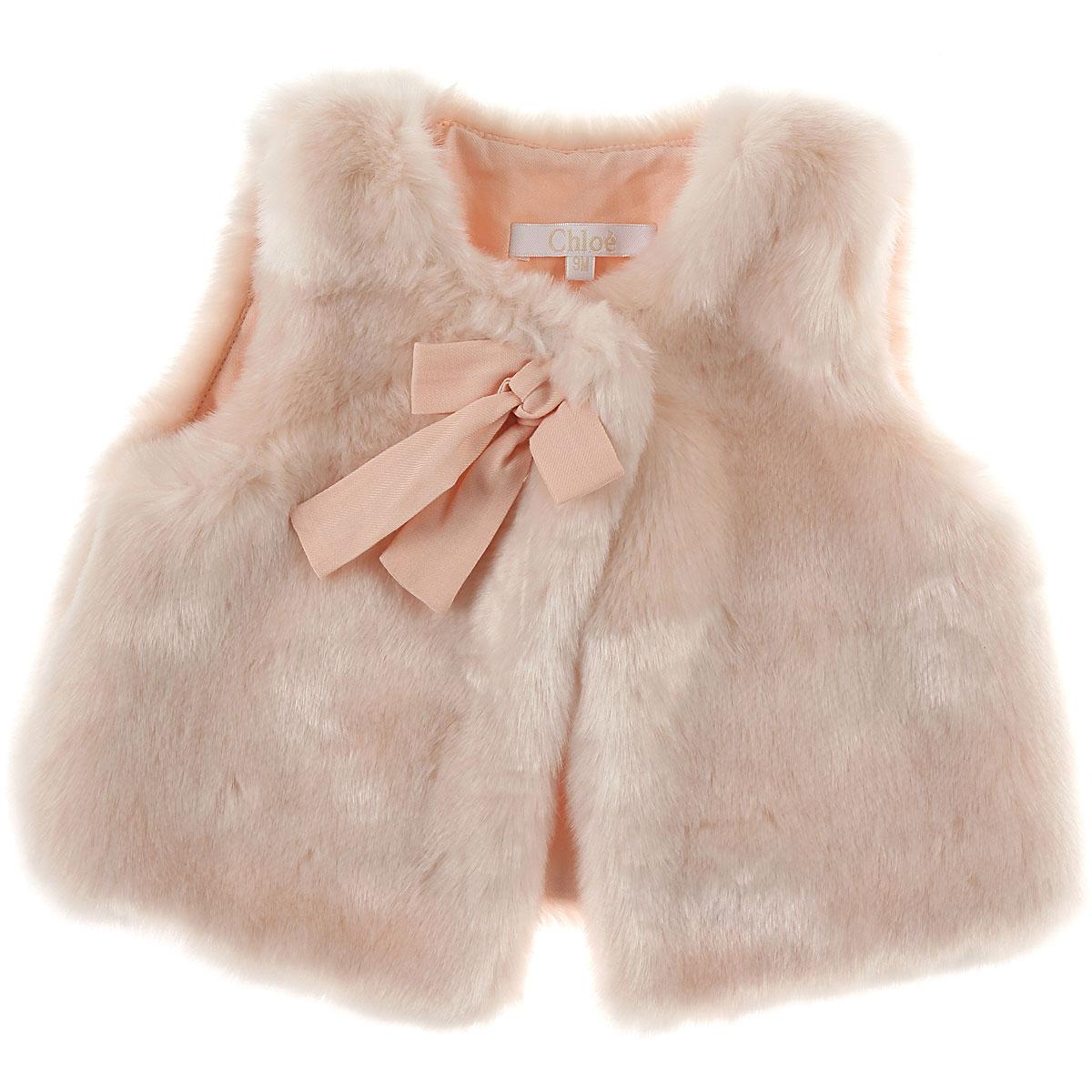 Image of Chloe Baby Jacket for Girls, Pink, modacryl, 2017, 12M 18M 2Y 3Y 6M 9M