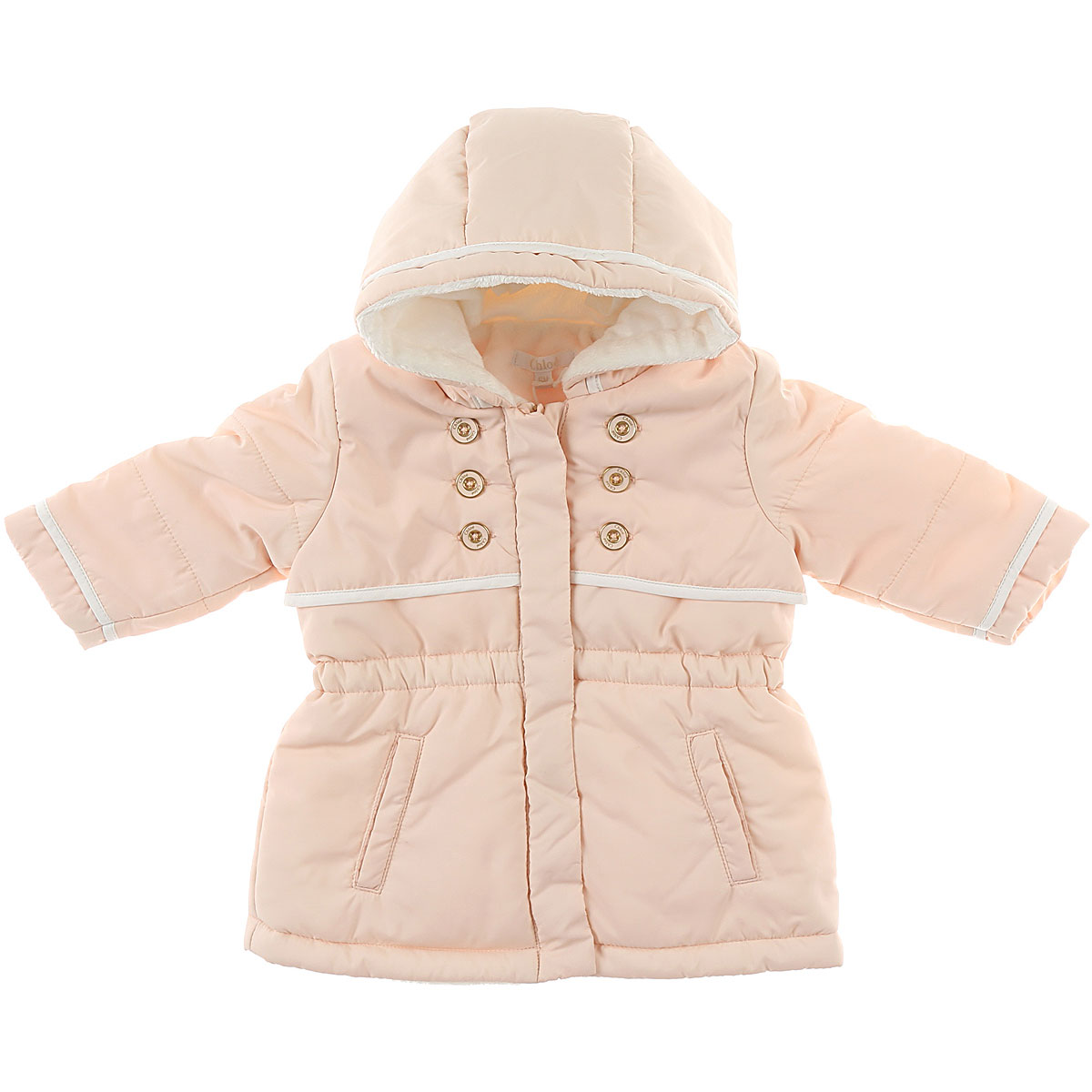 Image of Chloe Baby Jacket for Girls, Pink, polyester, 2017, 12M 18M 2Y 3Y 6M 9M