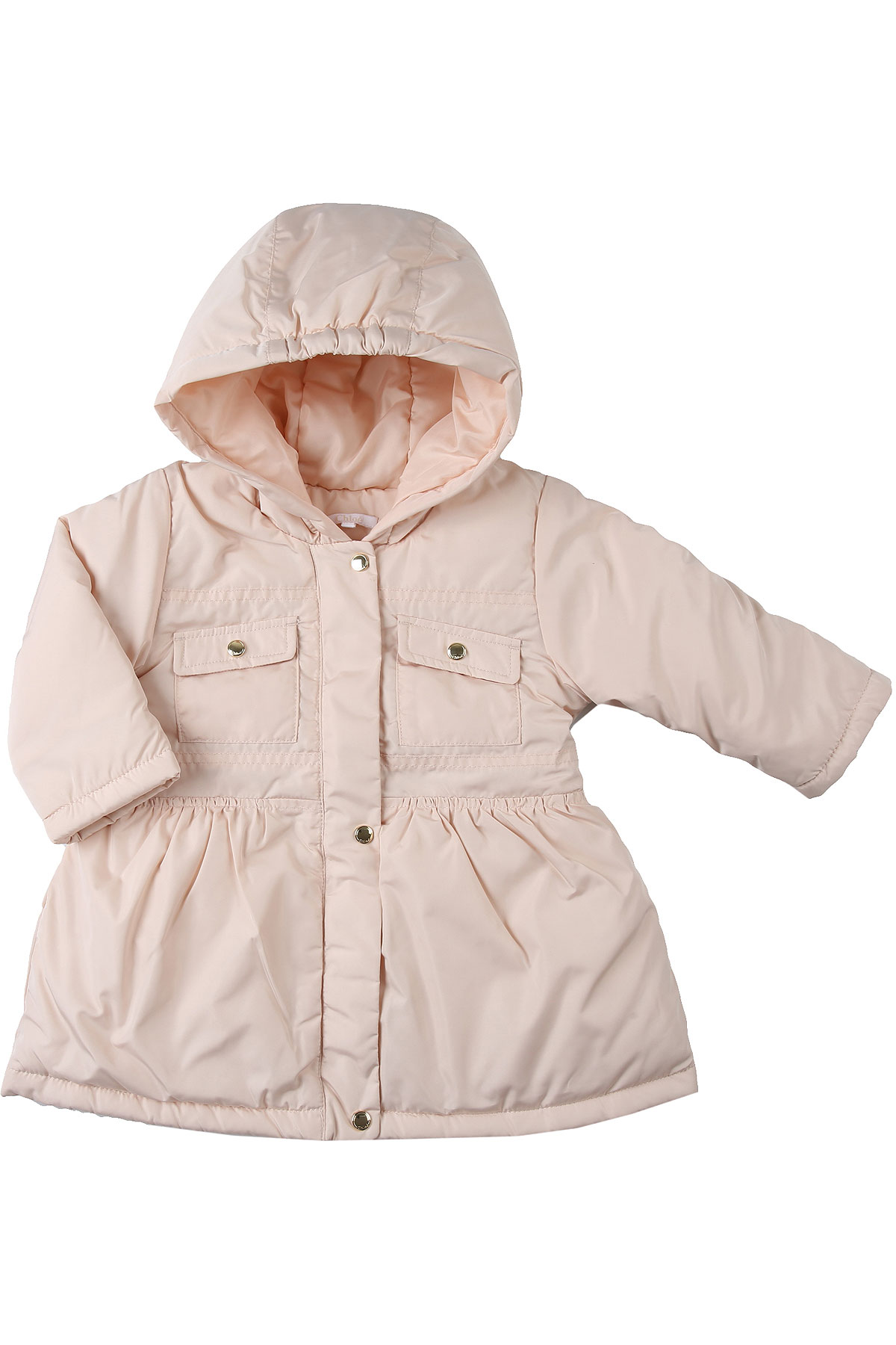 Chloe Baby Down Jacket for Girls On Sale, Pink, polyester, 2019, 12M 18M 2Y 3Y 9M