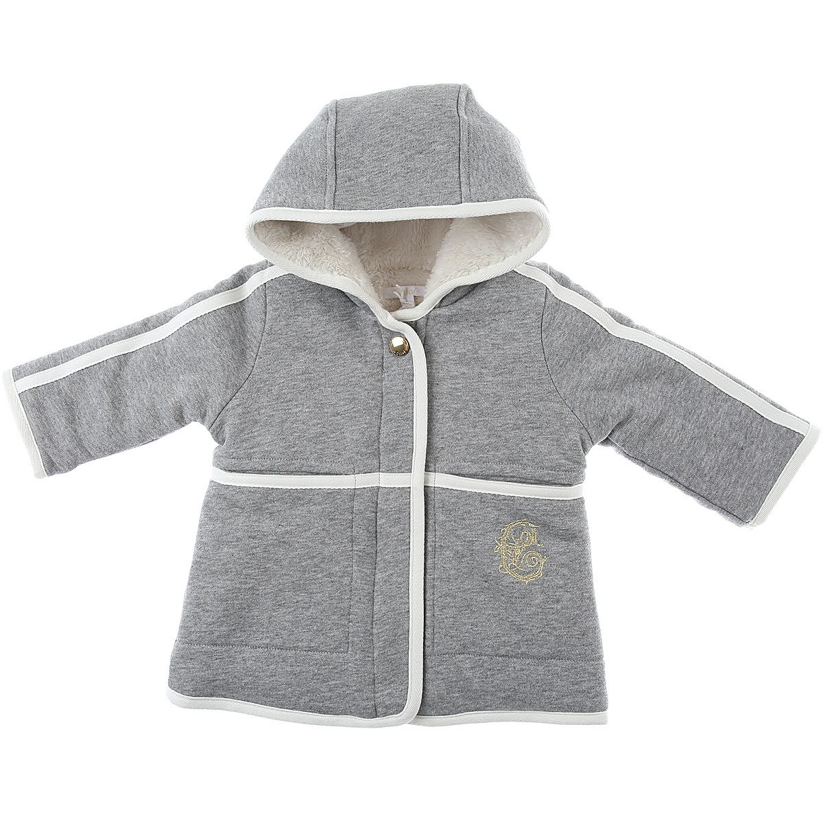 Chloe Baby Coats for Girls On Sale, Grey, Cotton, 2019, 12M 18M 2Y 3Y 6M 9M