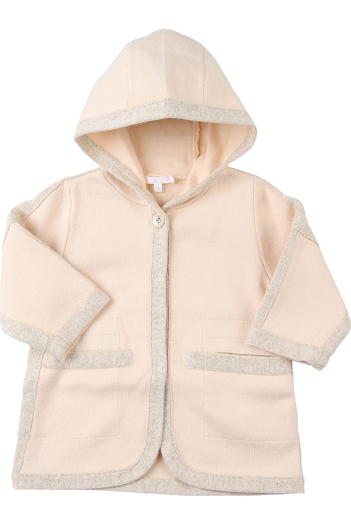 Chloe Baby Jacket for Girls On Sale, Rose, Cotton, 2019, 12M 2Y 6M