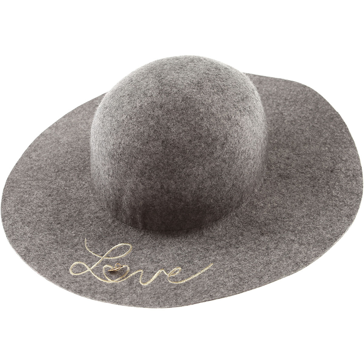 Image of Chloe Kids Hats for Girls, Grey, Wool, 2017, 58 56