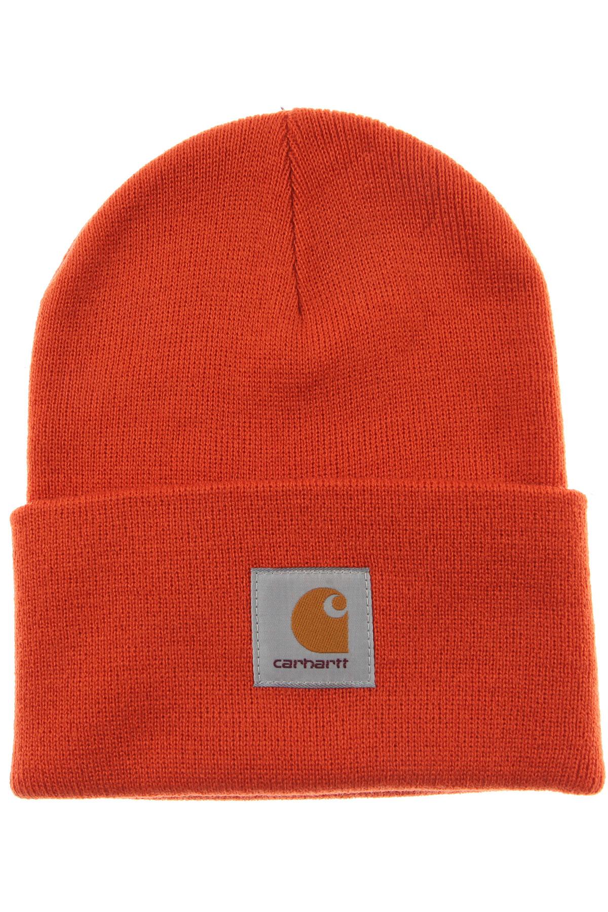 Image of Carhartt Hat for Women, Orange, Acrylic, 2017