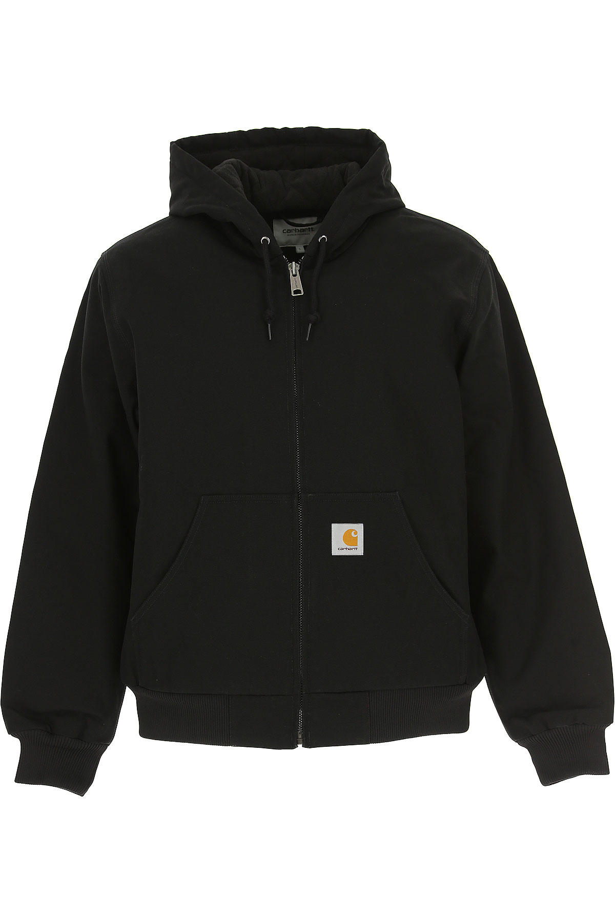 Image of Carhartt Jacket for Men, Black, polyester, 2017, L M S XL