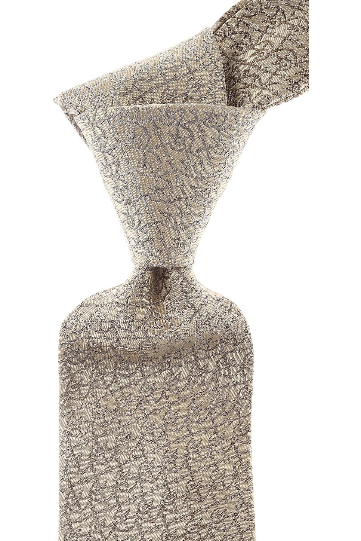Cravates Christian Lacroix Pas cher en Soldes, Champagne, Soie, 2017