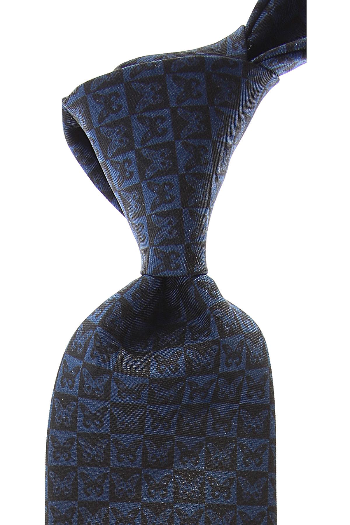 Christian Lacroix Ties On Sale, Medium Blue, Silk, 2019