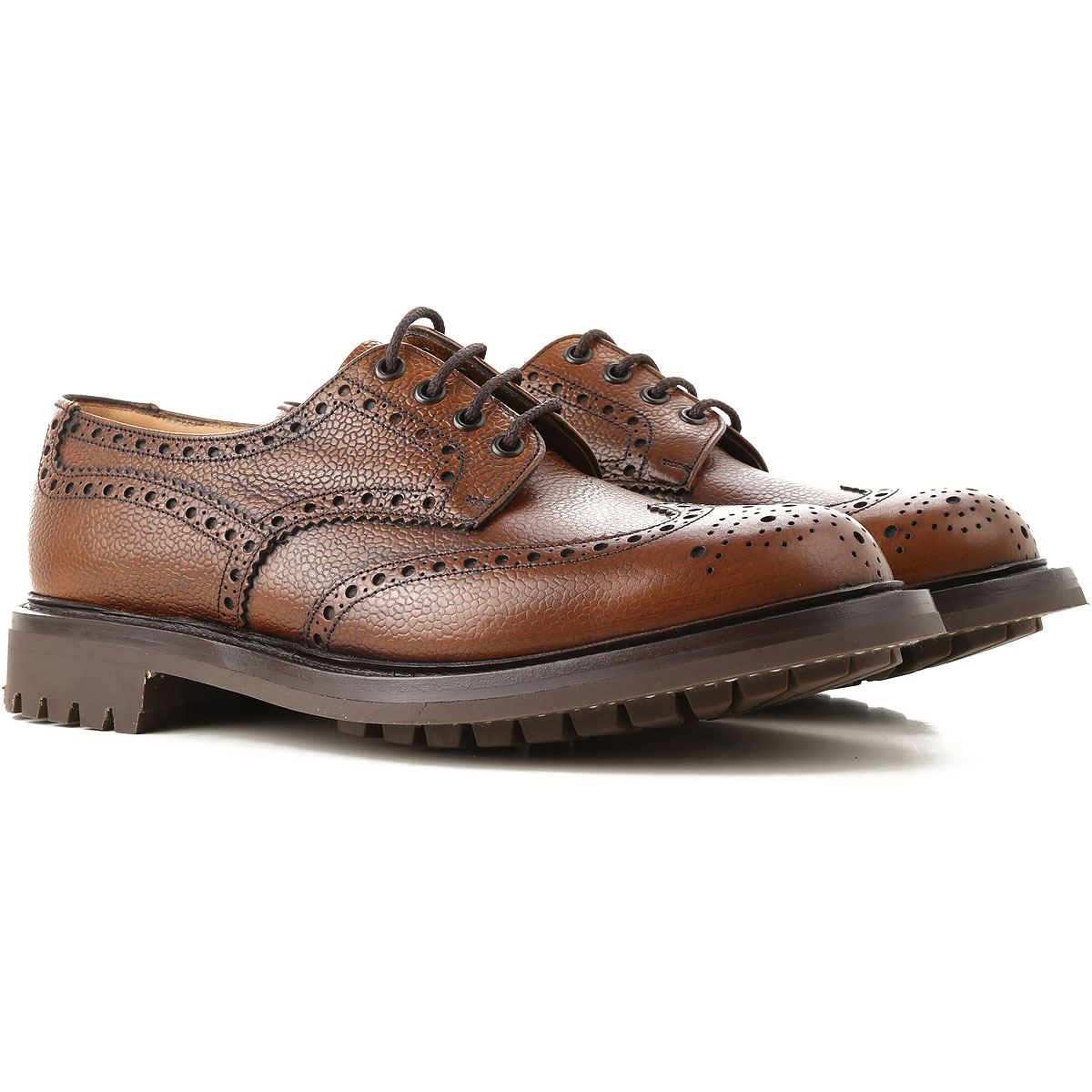 Image of Church's Brogue Shoes, walnut, Leather, 2017, 10 11 7.5 8 8.5 9 9.5
