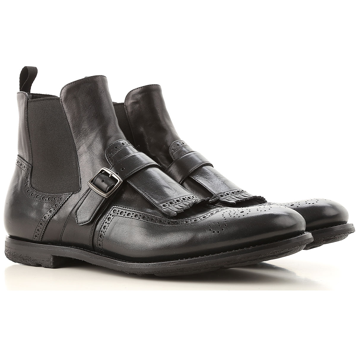 Image of Church's Boots for Men, Booties, Black, Leather, 2017, 10 7 8 9 9.5