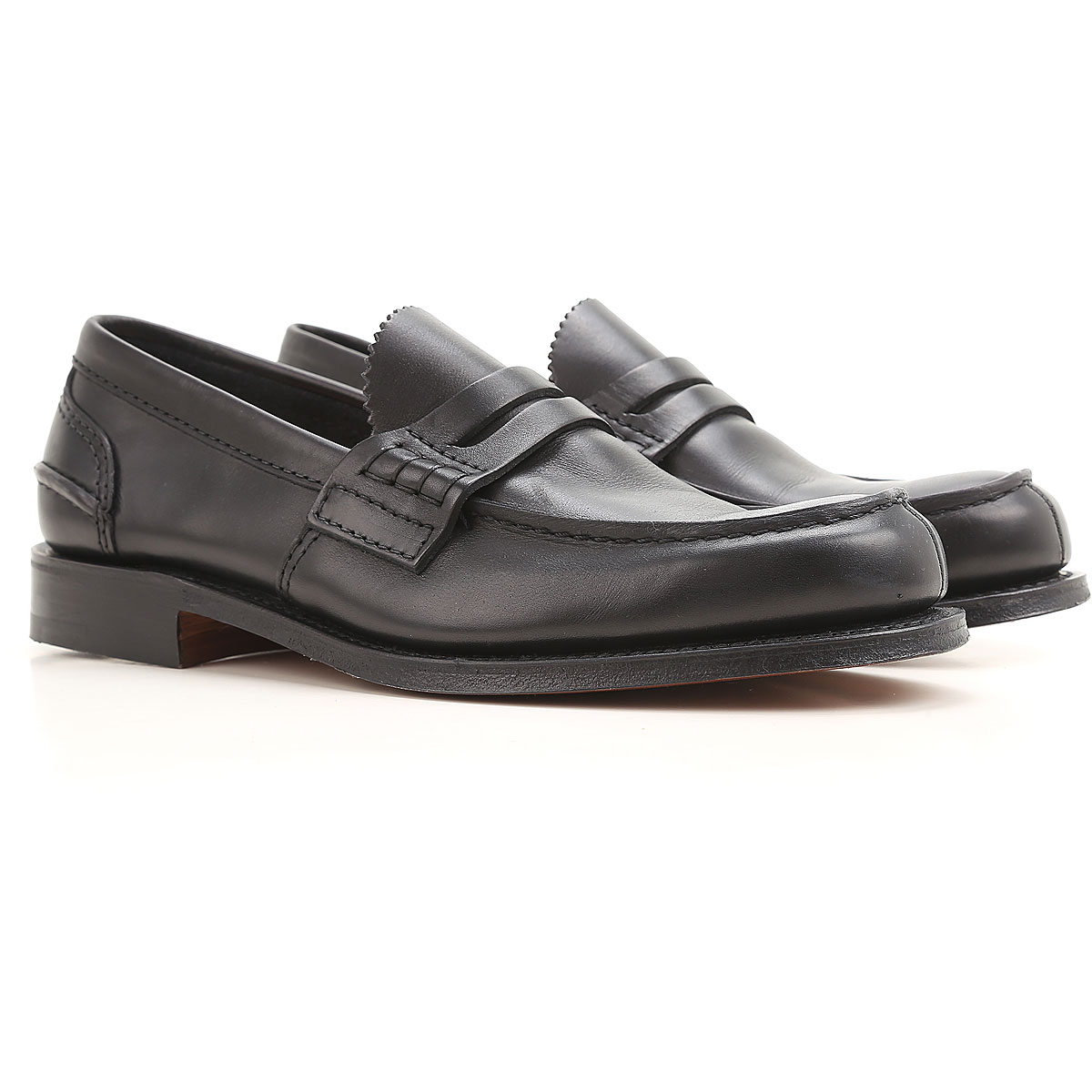 Image of Church's Loafers for Men, Black, Leather, 2017, 10 10.5 11 7 7.5 8 8.5 9 9.5