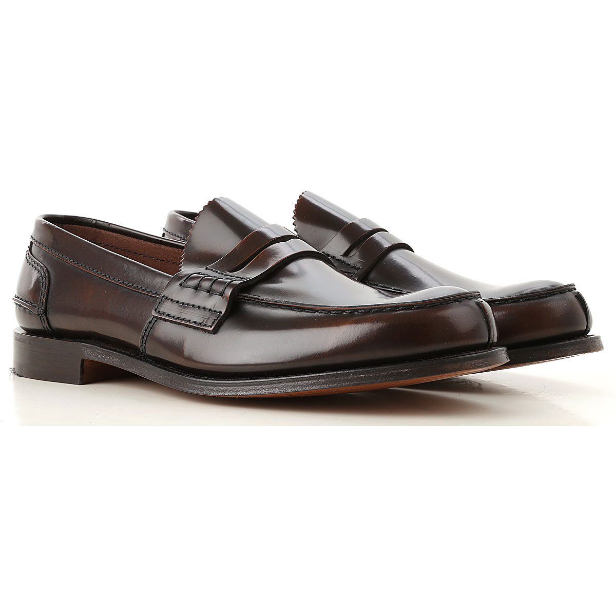 Image of Church's Loafers for Men, Ebony, Leather, 2017, 10 10.5 11 7 7.5 8 8.5 9 9.5