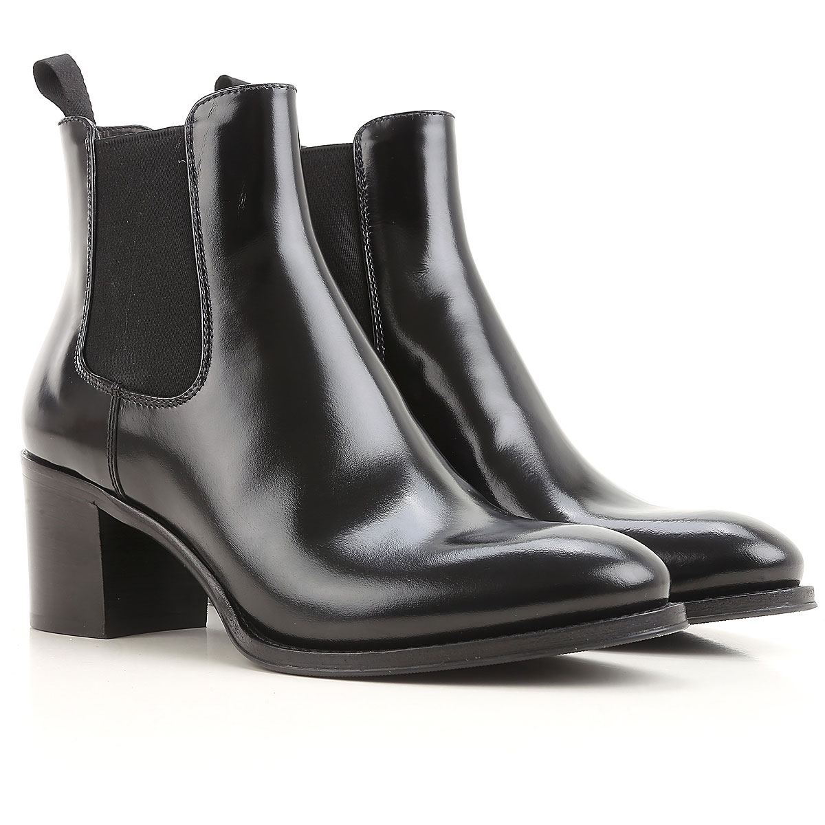 Image of Church's Boots for Women, Booties, Black, Leather, 2017, 10 5.5 6.5 7 8 8.5 9.5