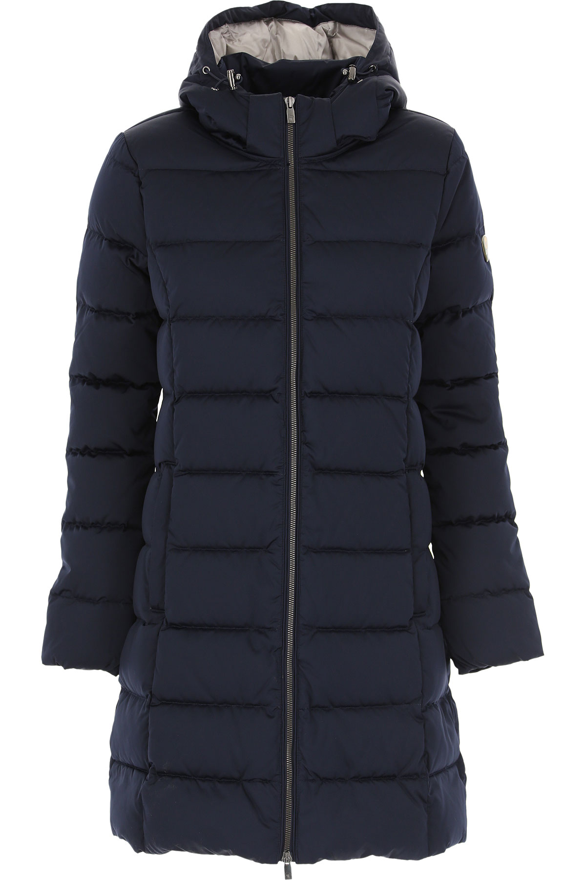 Ciesse Piumini Down Jacket for Women, Puffer Ski Jacket On Sale, Navy Blue, Down, 2019, 10 4 6 8