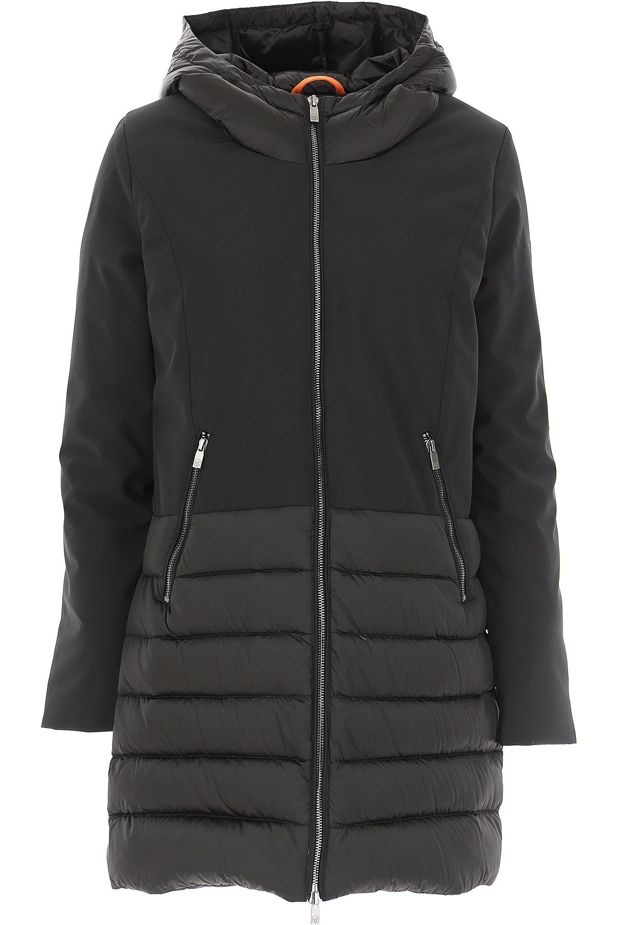Ciesse Piumini Down Jacket for Women, Puffer Ski Jacket On Sale, Black, Down, 2019, 4 6