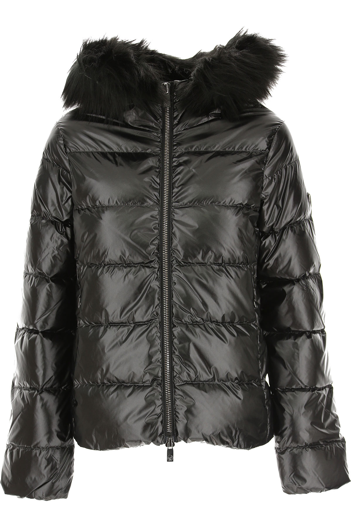 Ciesse Piumini Down Jacket for Women, Puffer Ski Jacket On Sale, Anthracite Grey, Down, 2019, 4 6