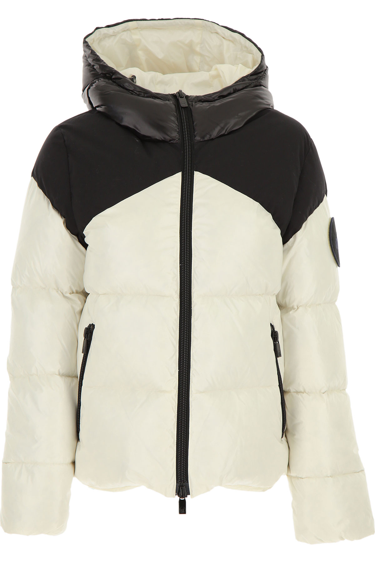 Ciesse Piumini Down Jacket for Women, Puffer Ski Jacket On Sale, White, polyester, 2019, 6 8