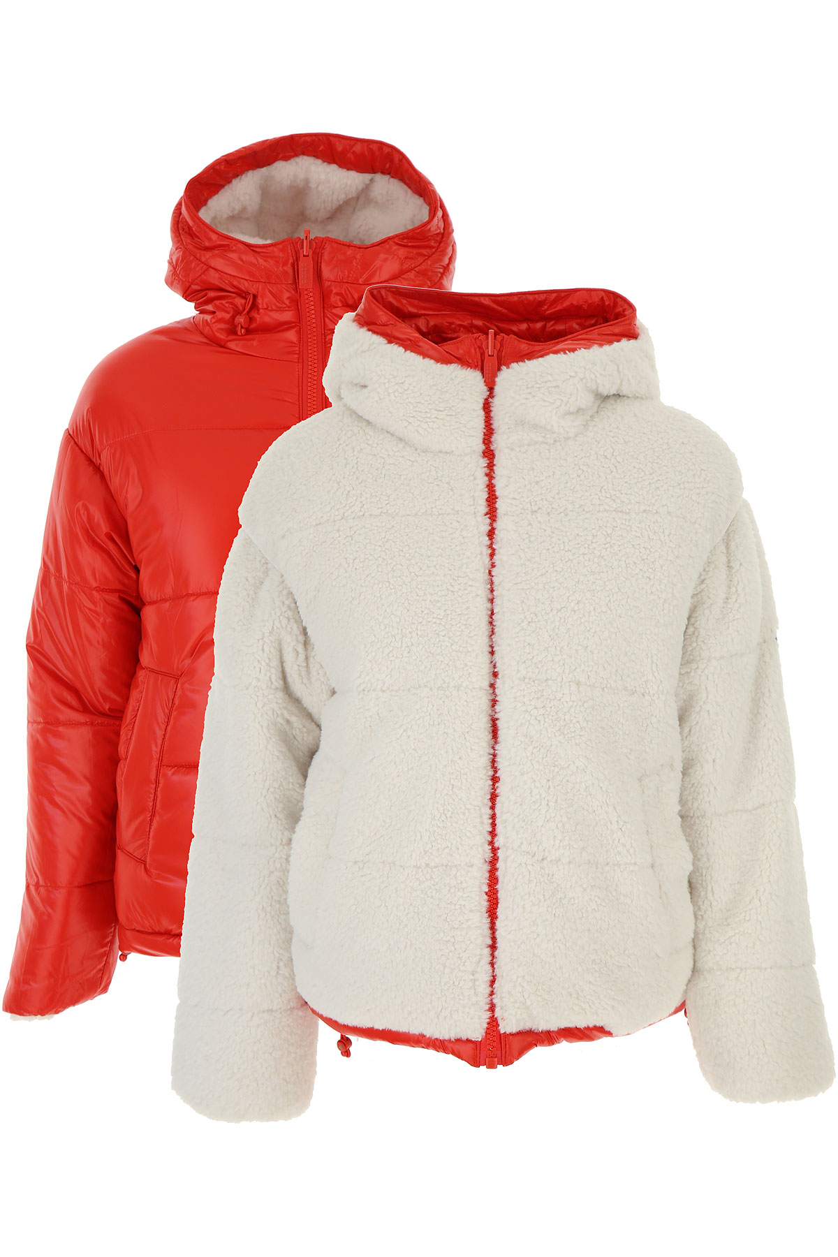 Ciesse Piumini Down Jacket for Women, Puffer Ski Jacket On Sale, White, polyester, 2019, 4 6