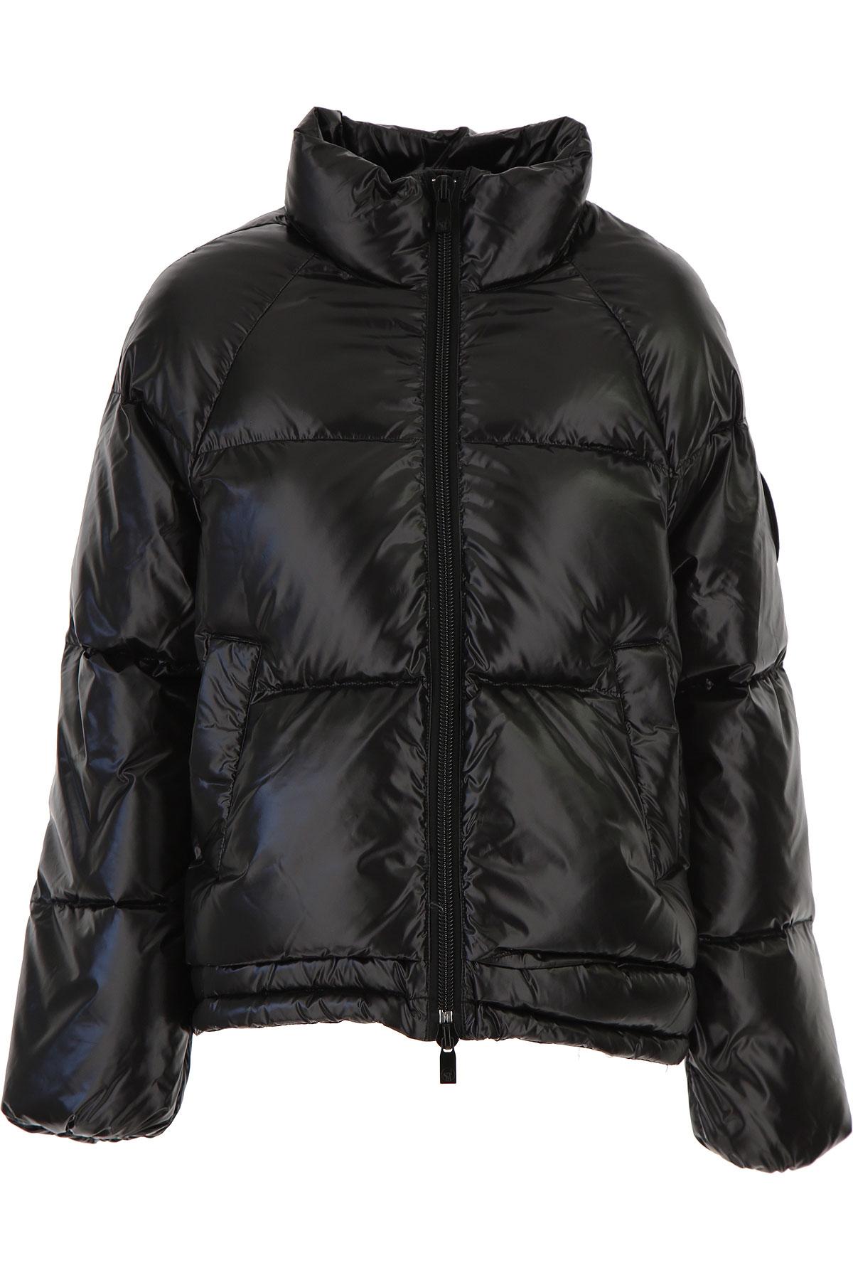 Ciesse Piumini Down Jacket for Women, Puffer Ski Jacket On Sale, Black, Nylon, 2019, 4 6 8