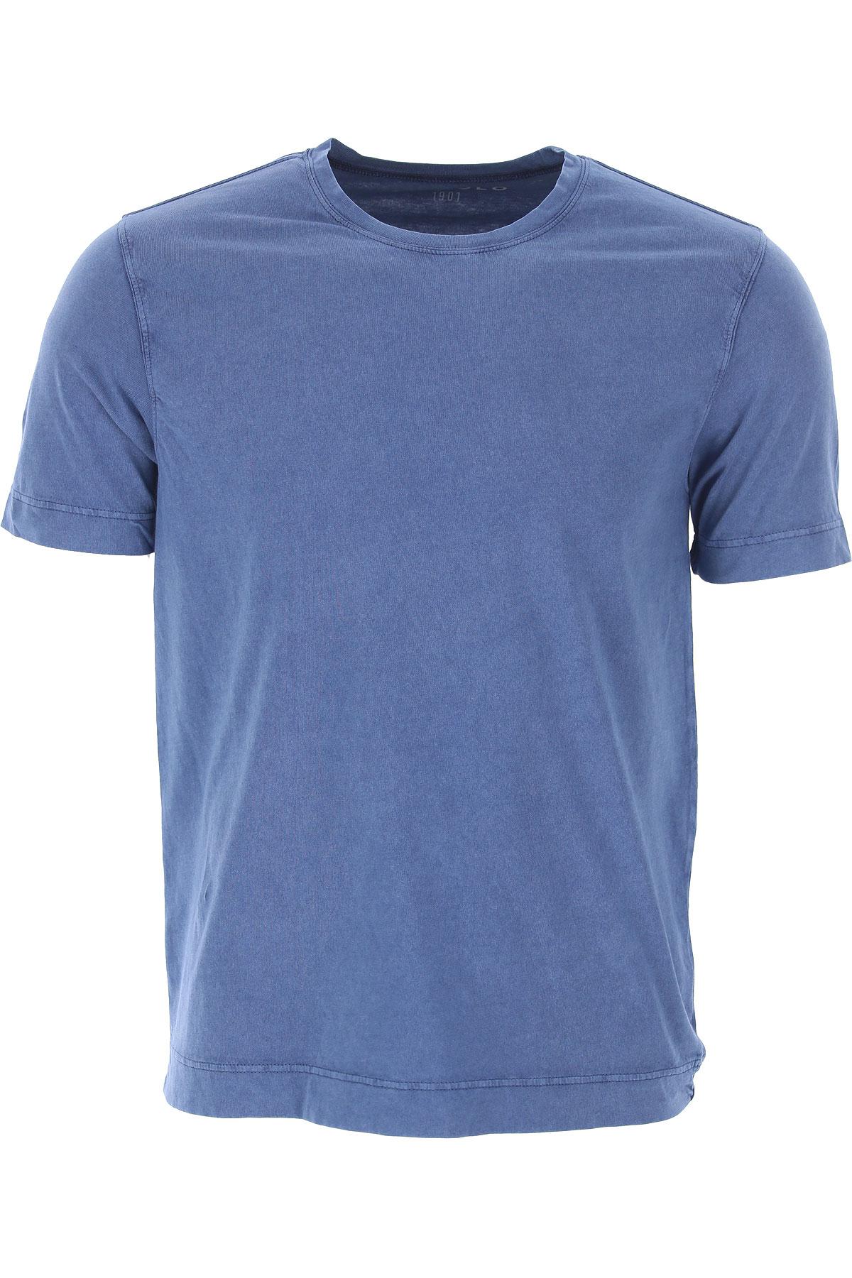 Circolo T-shirt Homme, Bleu de Jersey, Coton, 2017, M S XXL
