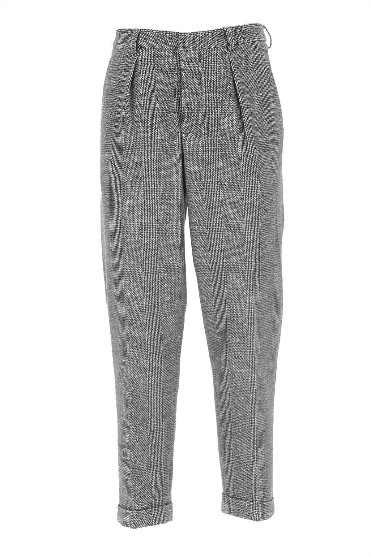 Circolo Pants for Men, Black, Cotton, 2019, 30 34