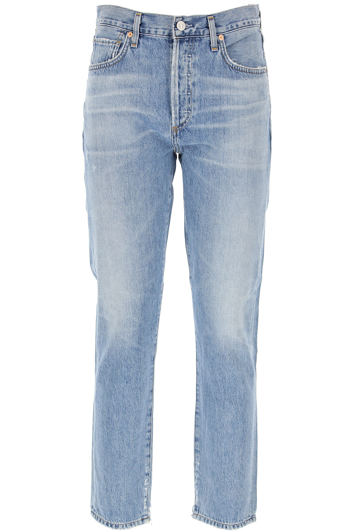 Citizens of Humanity Jeans On Sale, Denim Blue, Cotton, 2019, 25 26 27 28