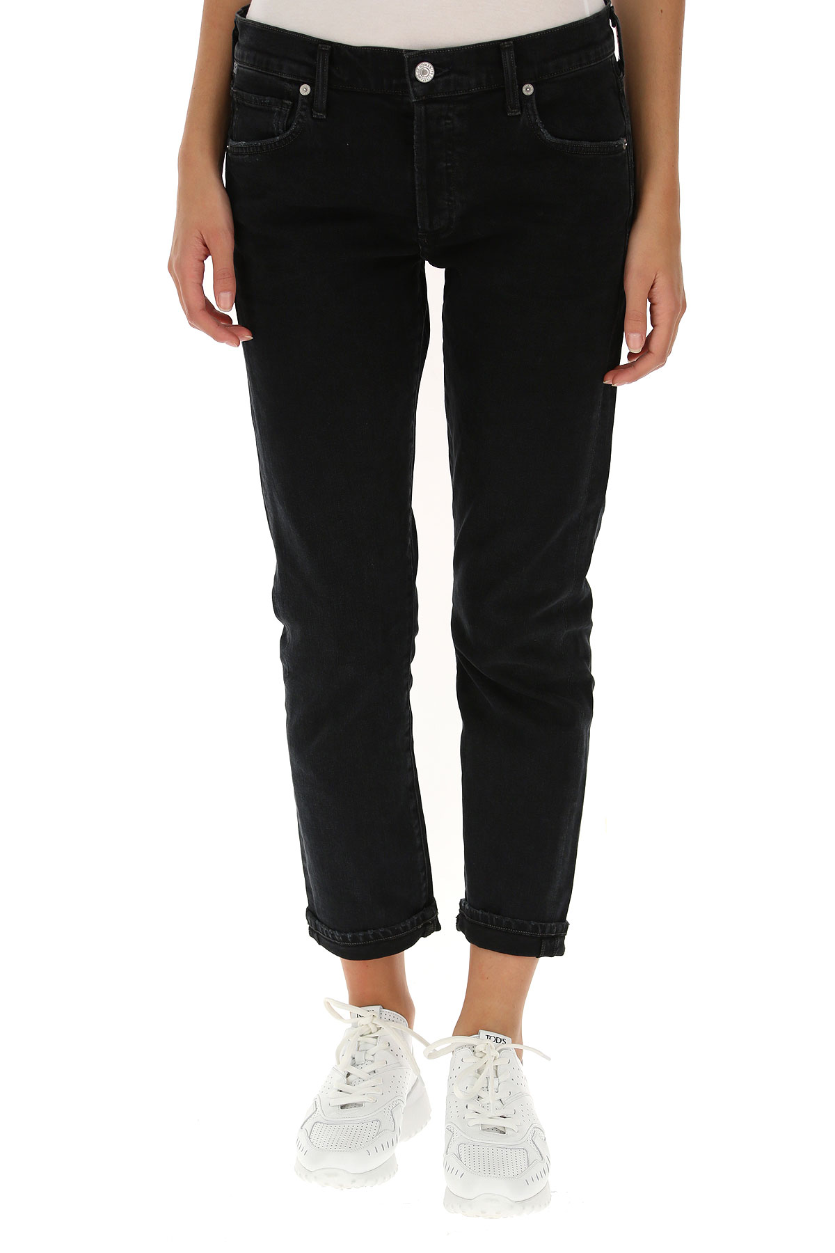 Citizens of Humanity Jeans On Sale, Dark Midnight Blue, Cotton, 2019, 25 27 28