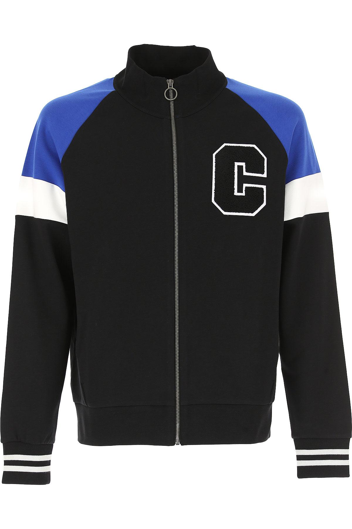 Calvin Klein Sweatshirt for Men, Black, Cotton, 2017, L M S XL USA-467665