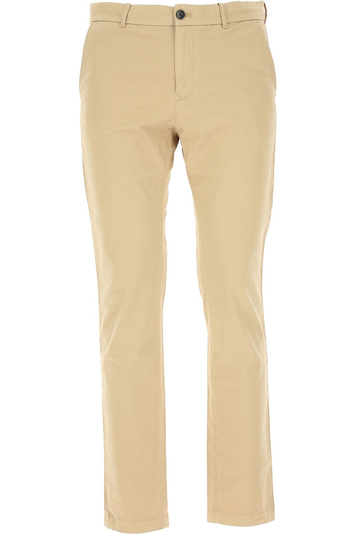 Calvin Klein Pants for Men On Sale in Outlet, Cornstalk, Cotton, 2019, 30 38