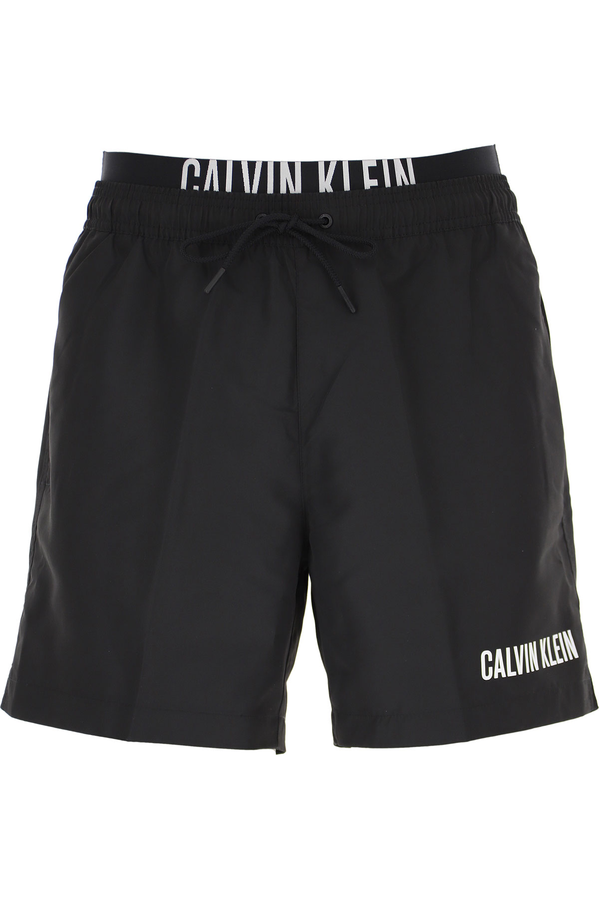 Calvin Klein Swim Shorts Trunks for Men On Sale, Black, polyester, 2019, S M L