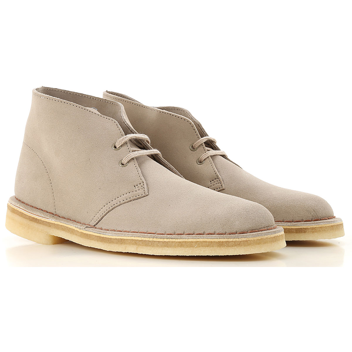 Image of Clarks Desert Boots Chukka for Men, Sand, suede, 2017, 10 11 7 8 9