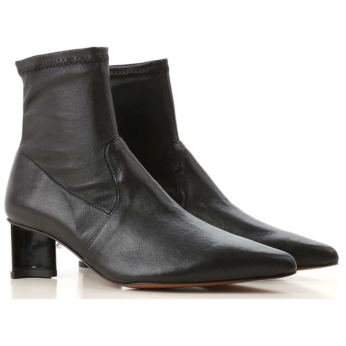 Image of Clergerie Paris Boots for Women, Booties, Black, Leather, 2017, 10 6 6.5 7 8 8.5 9