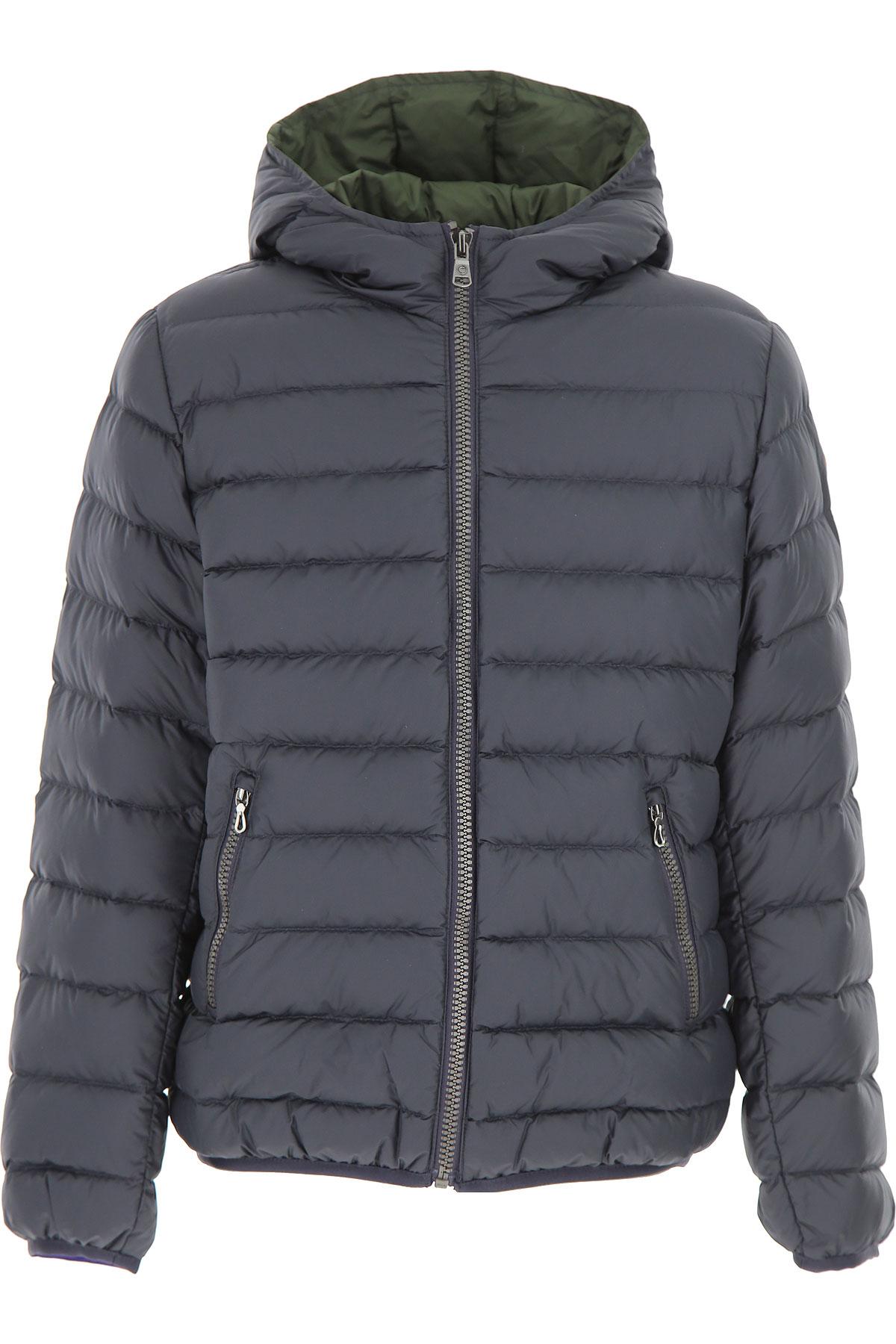 Image of Colmar Boys Down Jacket for Kids, Puffer Ski Jacket, Blue, polyester, 2017, 10Y 14Y 16Y 4Y 6Y 8Y
