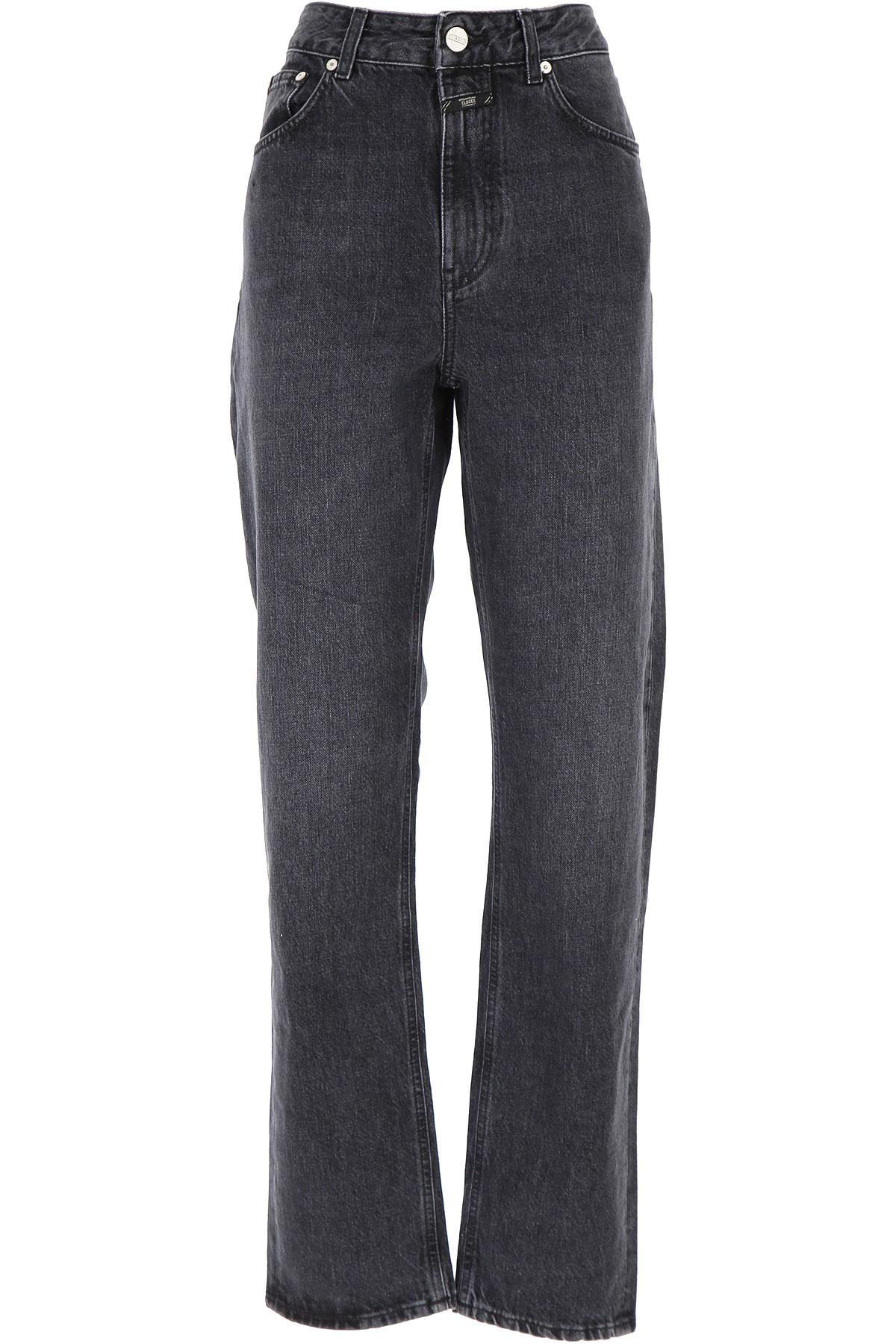 Closed Jeans On Sale, Black, Cotton, 2019, 24 25