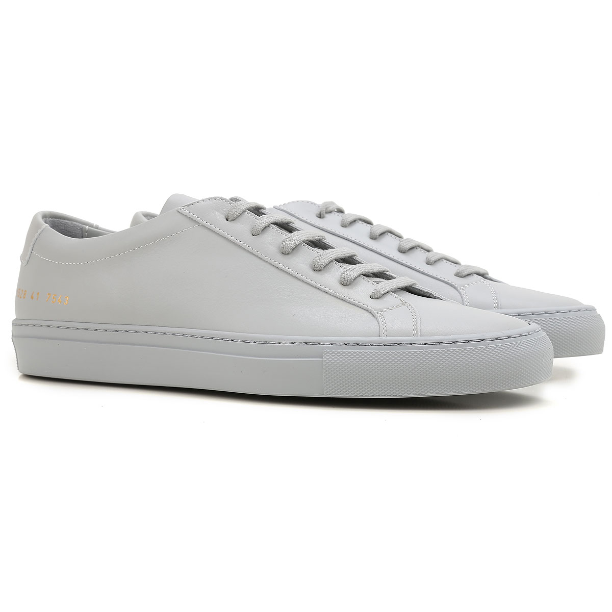 Image of Common Projects Sneakers for Men, Grey, Leather, 2017, 10 10.5 8