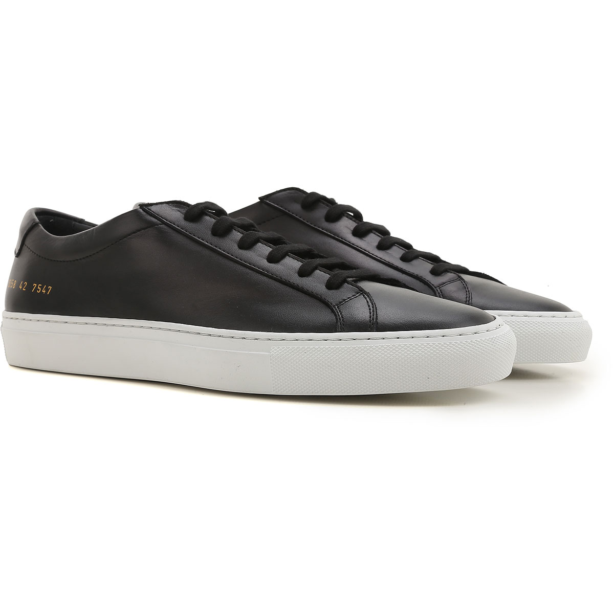 Image of Common Projects Sneakers for Men, Black, Leather, 2017, 6.5 7.5 9