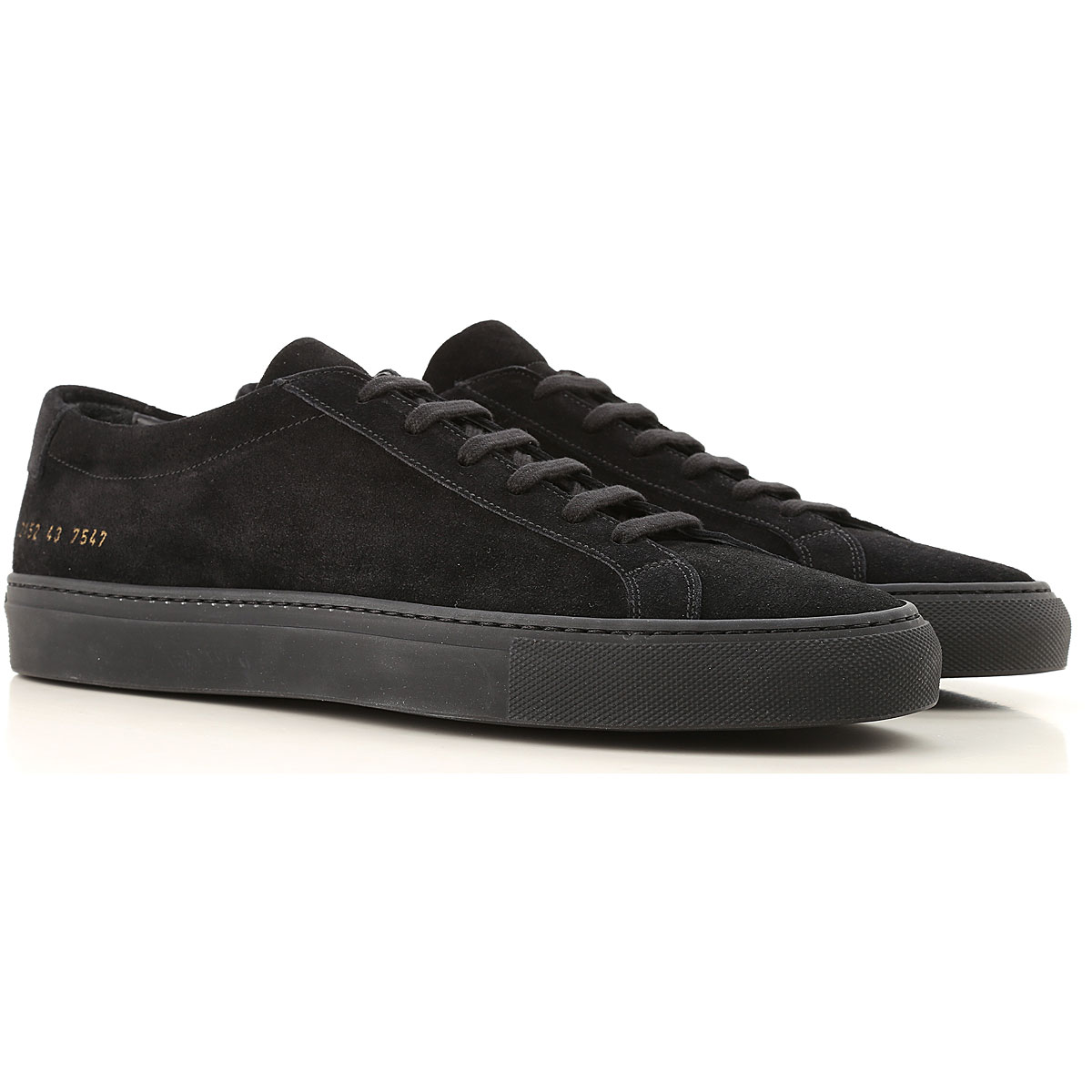 Image of Common Projects Sneakers for Men, Black, suede, 2017, 6.5 7.5 8