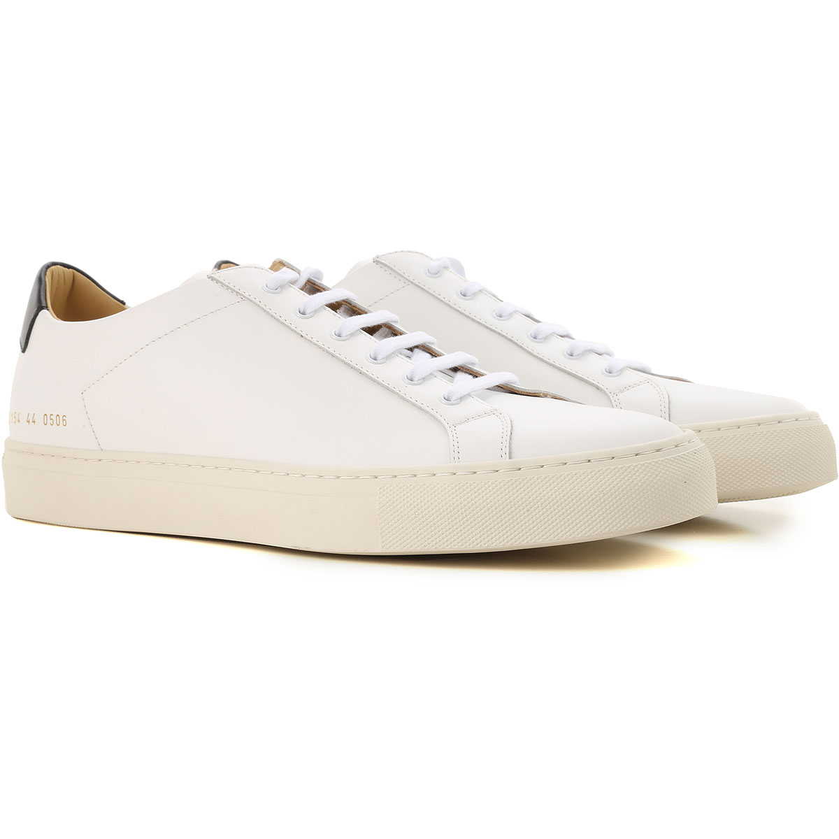 Image of Common Projects Sneakers for Men, White, Leather, 2017, 10.5 6.5 7.5 8 9
