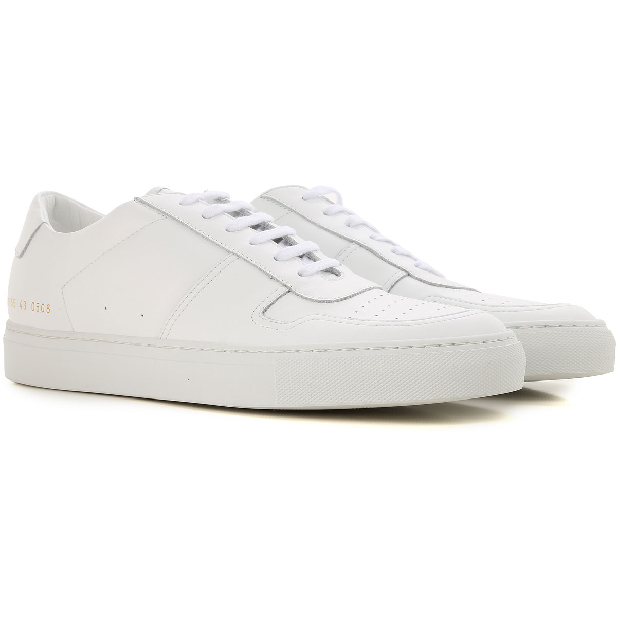 Image of Common Projects Sneakers for Men, White, Leather, 2017, 10 10.5 6.5 7.5 8
