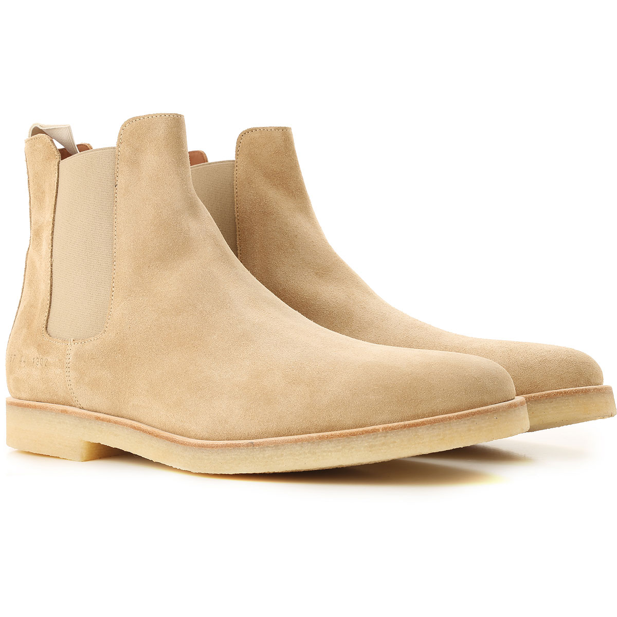 Image of Common Projects Boots for Men, Booties, Beige, Suede leather, 2017, 10 10.5 7.5 8 9
