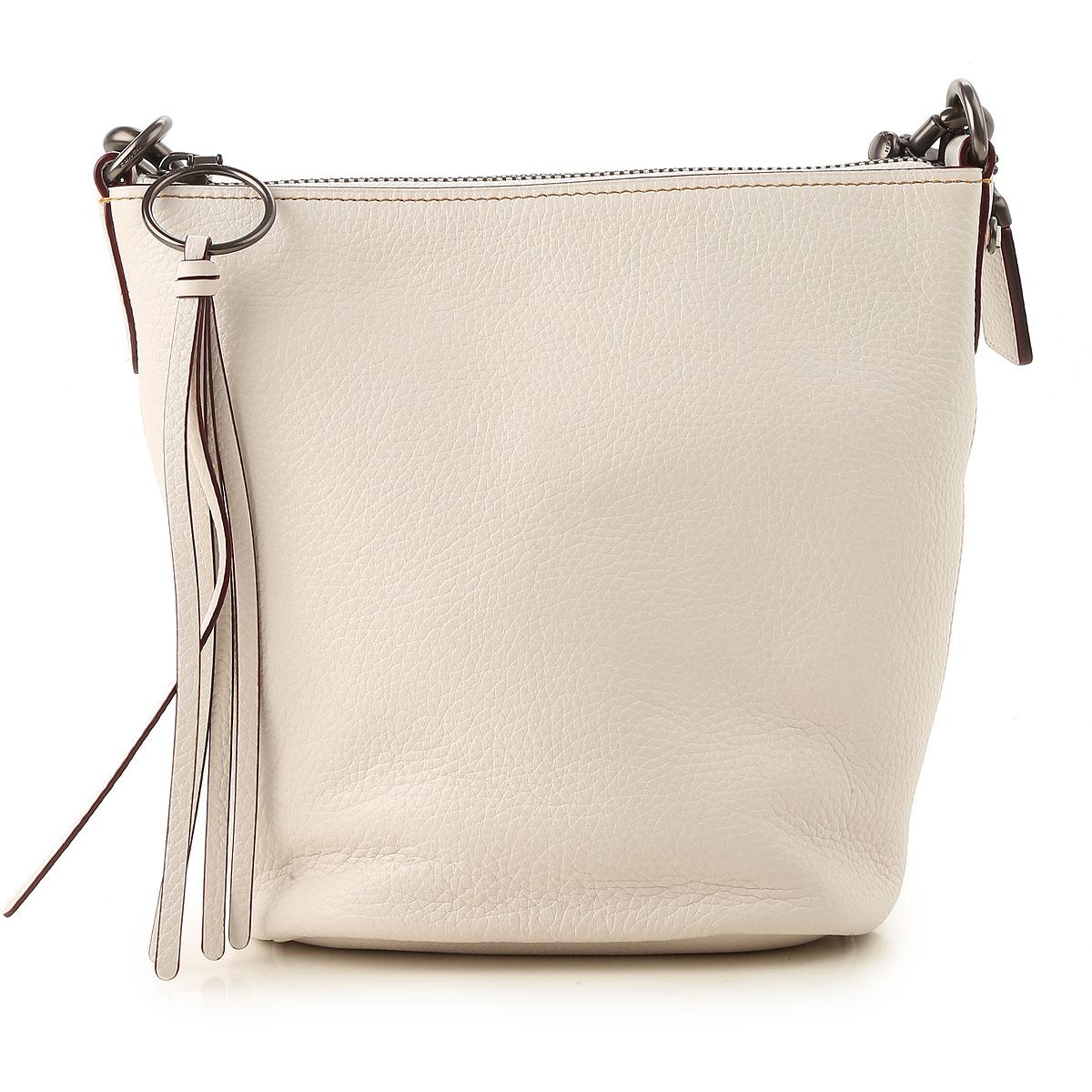 Image of Coach Shoulder Bag for Women, Milk, Leather, 2017