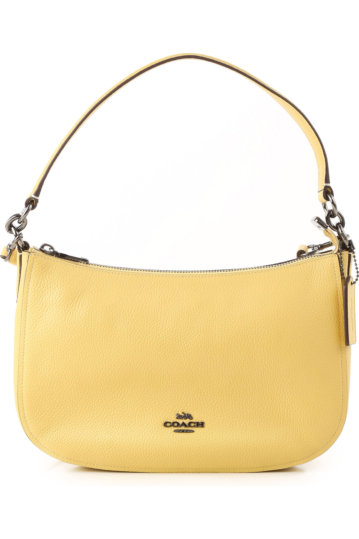 Coach Shoulder Bag for Women On Sale, Sunflowers, Leather, 2019