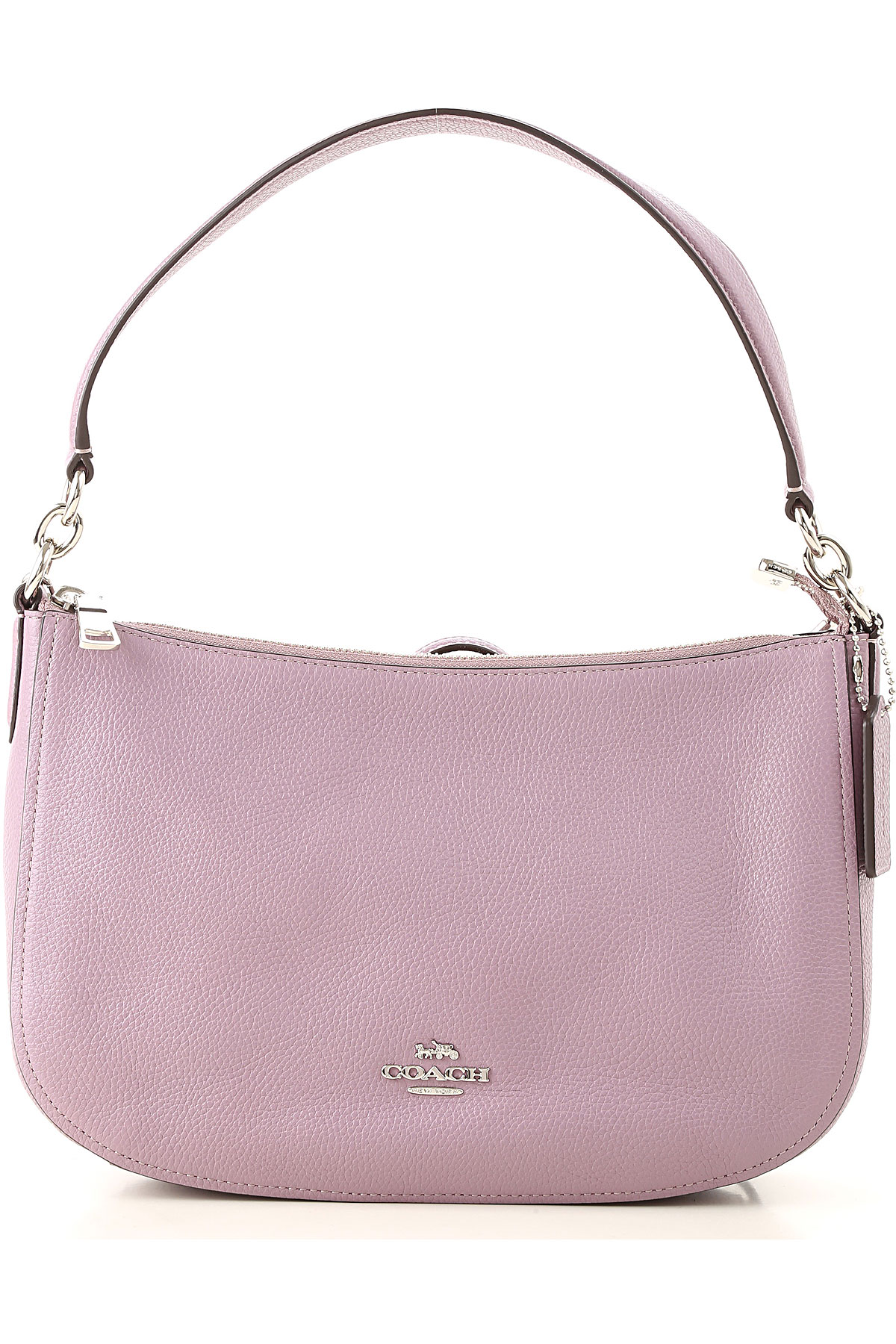 Image of Coach Shoulder Bag for Women, Mauve, Leather, 2017