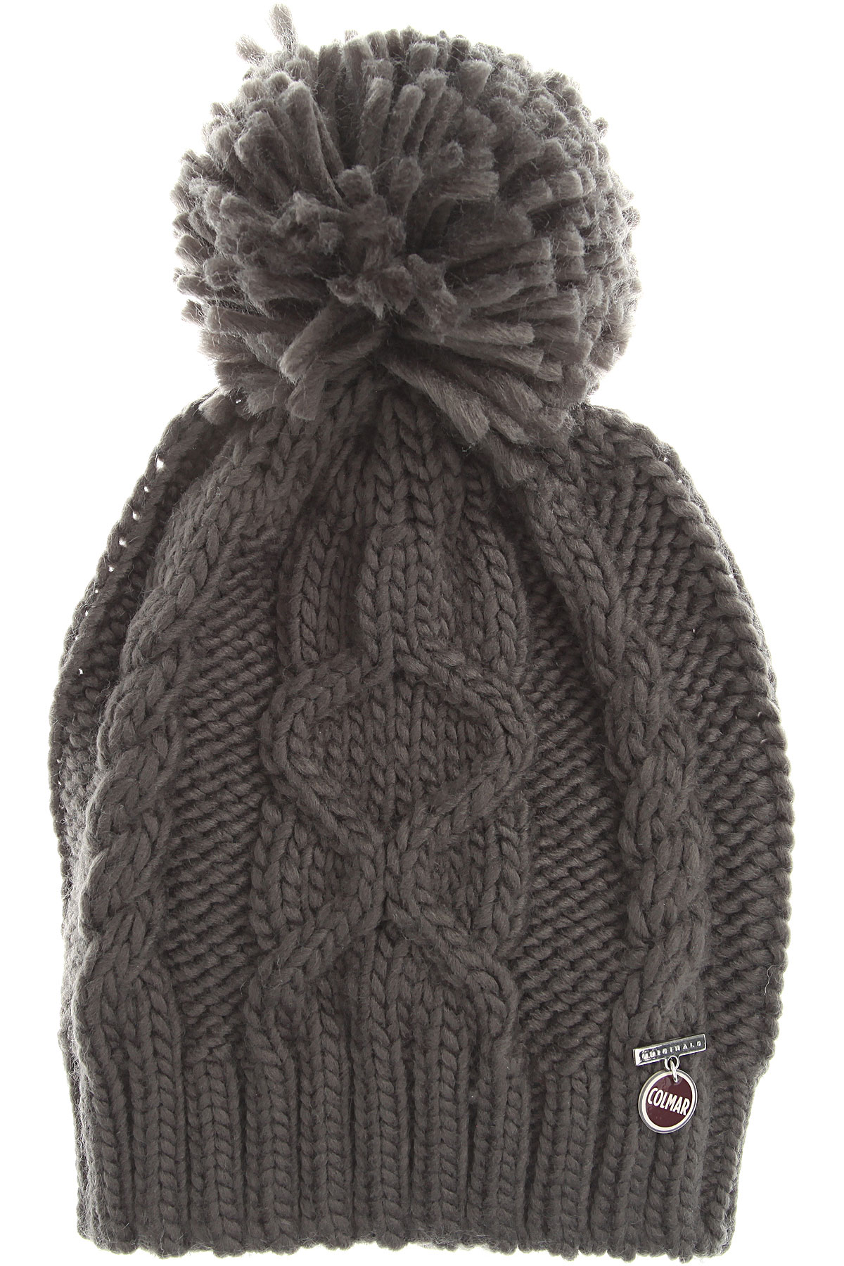Image of Colmar Hat for Women, Graphite Grey, Acrylic, 2017