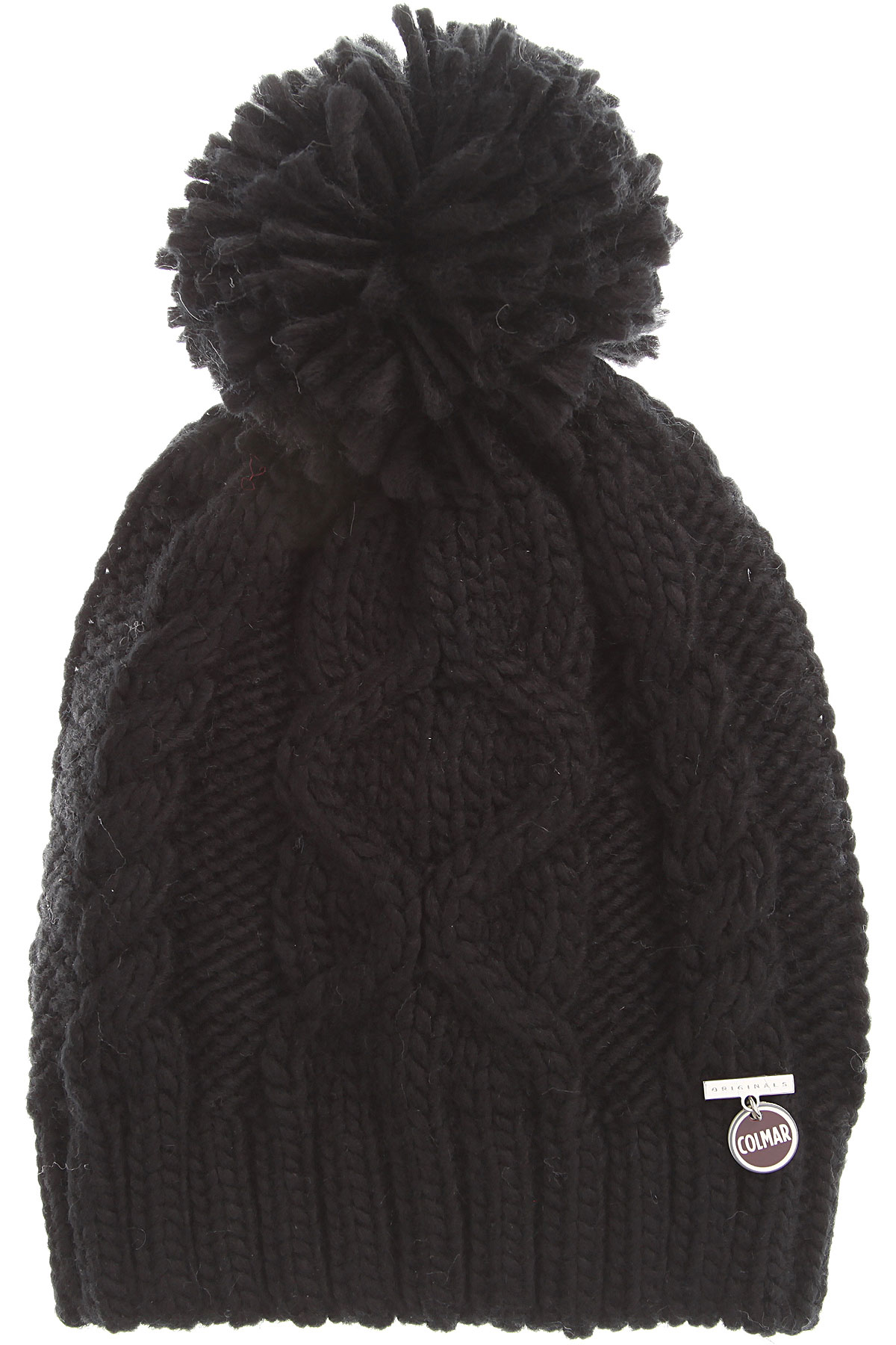 Image of Colmar Hat for Women, Black, Acrylic, 2017